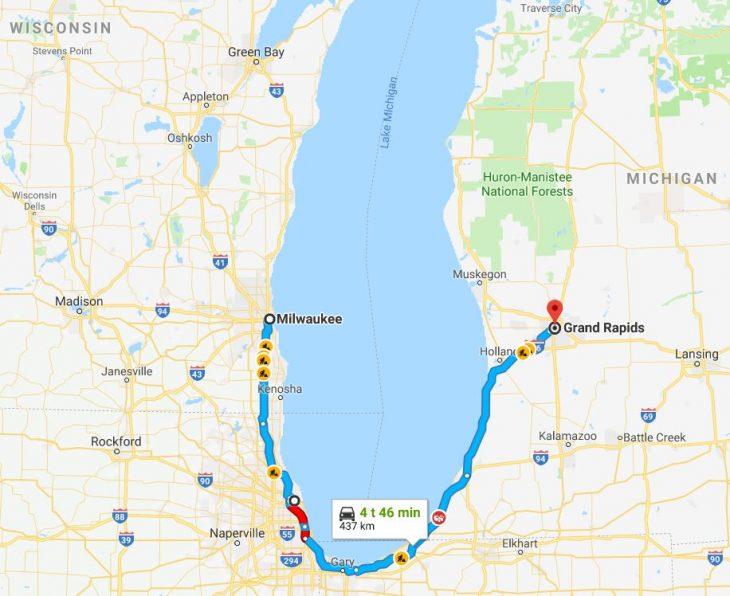 Milwaukee – Grand Rapids 2.9